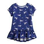 Girls 4-12 Jumping Beans® Short Sleeve Peplum-Hem Top