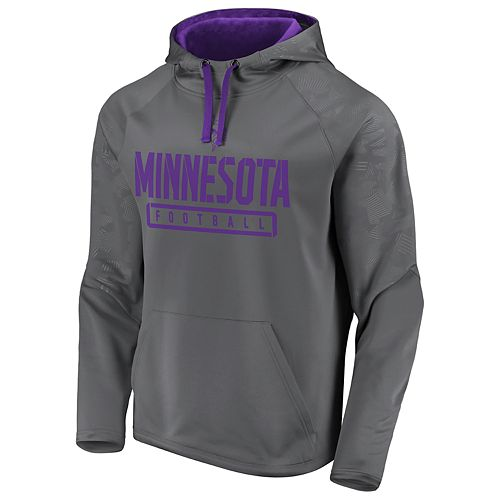 Mens NFL Minnesota Vikings Defender Primary Logo Pullover