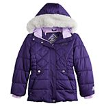 Girls 4-16 ZeroXposur Quilted Puffer Jacket