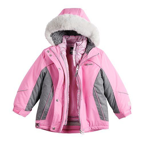 Girls 4-16 ZeroXposur Helen Layered Systems Jacket