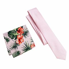 71726051a29a Men's Apt. 9® Skinny Prom Tie & Pocket Square. Dusty Pink ...