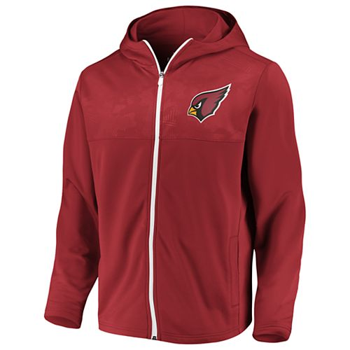 Mens NFL Arizona Cardinals Defender Mission Zip-Up