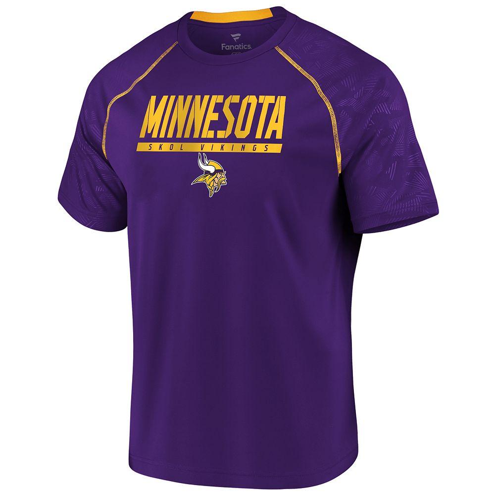 Men's Minnesota Vikings Defender Mission Tee
