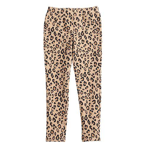 Girls 4-12 Jumping Beans® Leopard Leggings