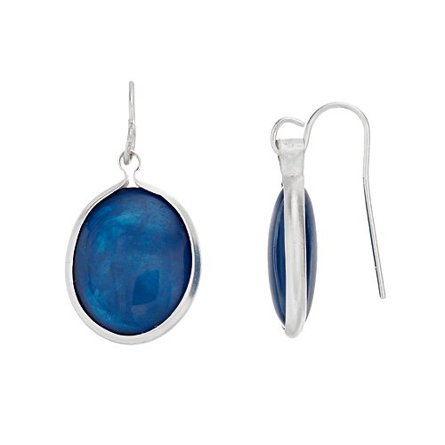 SONOMA Goods for Life® Round Stone Drop Earrings
