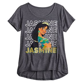 Girl's Disney's Aladdin Jasmine Short-Sleeve Tee