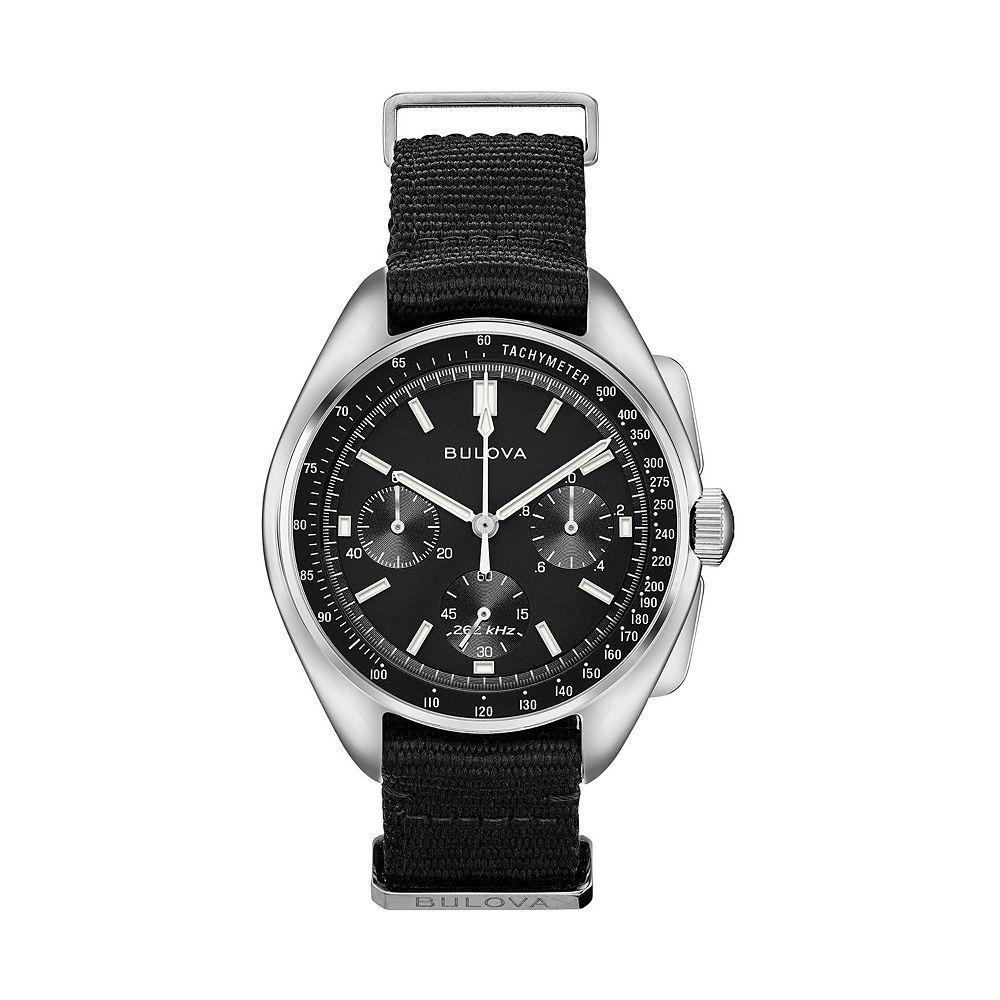 Bulova Men's Special Edition Lunar Pilot Chronograph Watch - 96A225