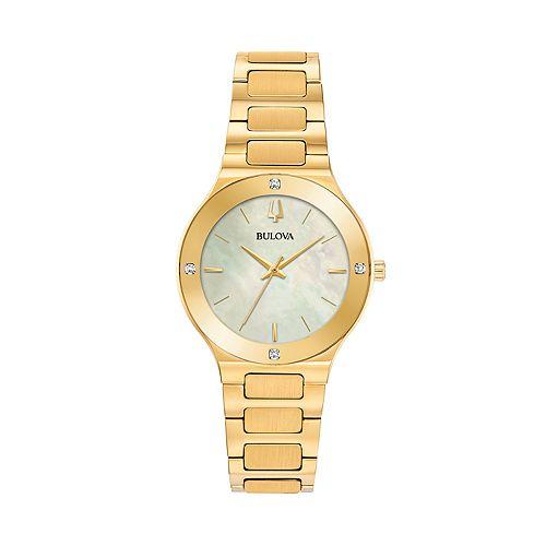 Bulova Women's Millennia Diamond Accent Watch - 97R102