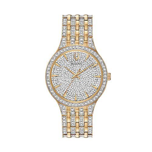 Bulova Men's Phantom Crystal Two Tone Watch - 98A229