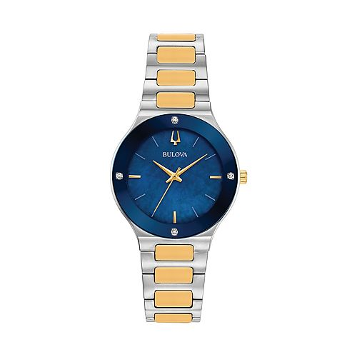 Bulova Women's Millennia Two-Tone Diamond Accent Watch - 98R273