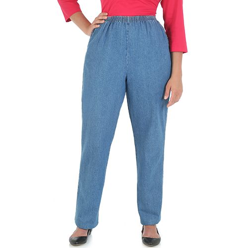 Petite Chic Scooter Relaxed Fit Pull-On Pants