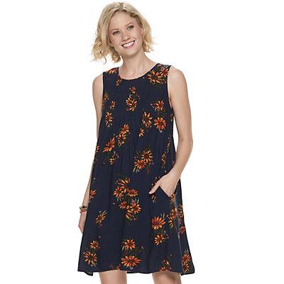 Petite SONOMA Goods for Life? Pintuck Dress