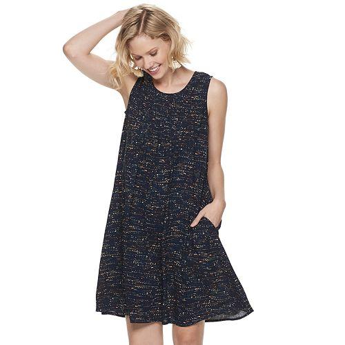 Petite SONOMA Goods for Life™ Pintuck Dress