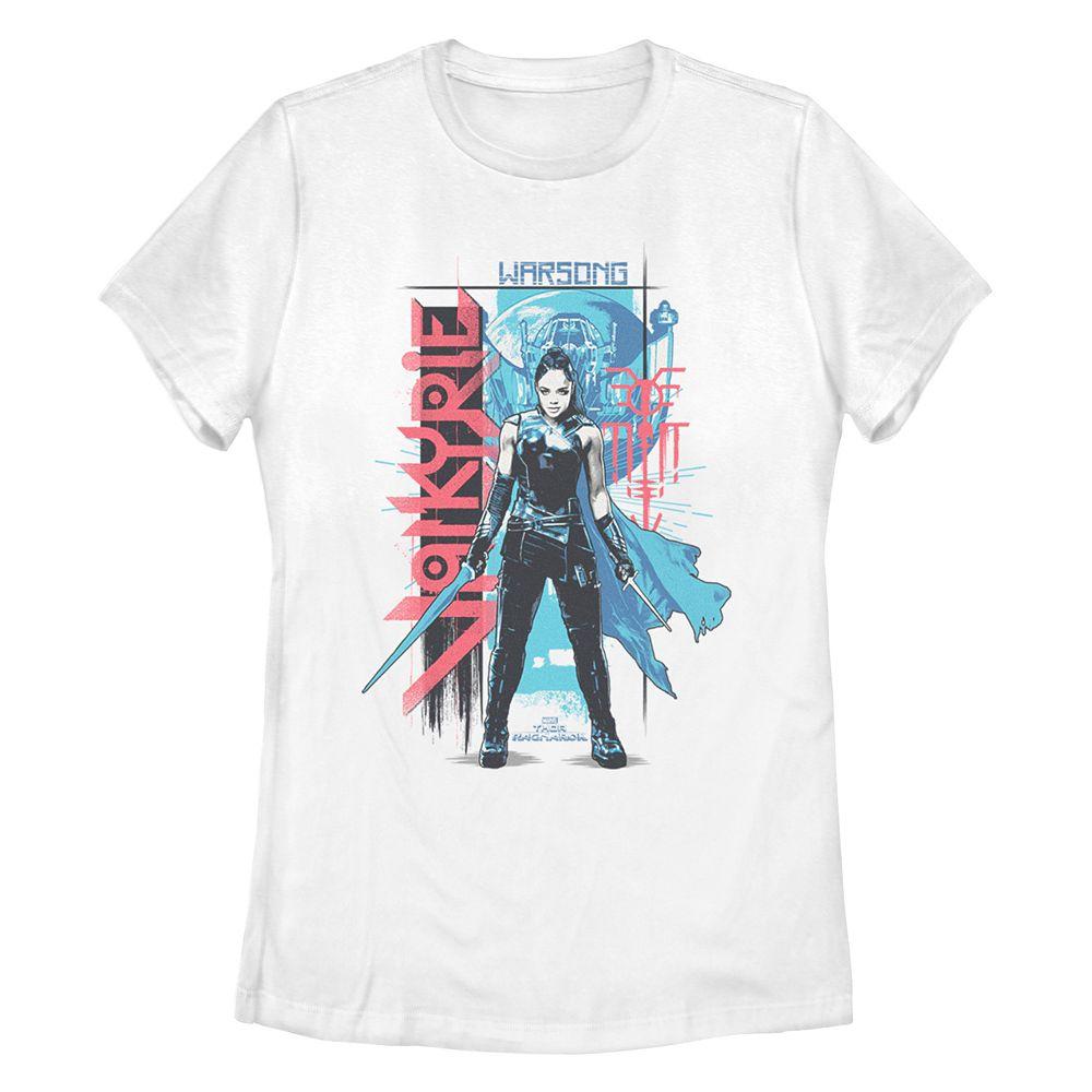 Juniors' Thor Ragnarok Valkyrie Poster Tee