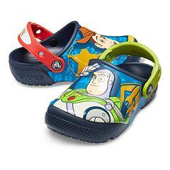 7d58eed6ec Crocs Disney / Pixar Toy Story Woody & Buzz Lightyear Boys' Clogs