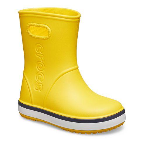 Crocs Crocband Girls' Waterproof Rain Boots