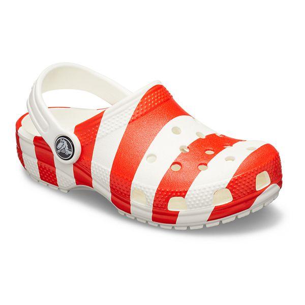 Crocs Classic American Flag Boys' Clogs