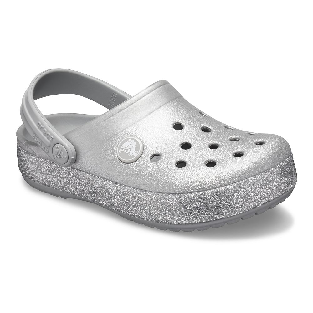 Crocs Crocband Glitter Girls' Clogs