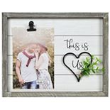 """New View """"This is Us"""" Wire Heart Frame"""