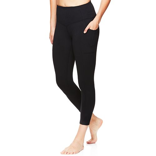 Women's Gaiam Om High Rise Pocket Yoga Capri Leggings