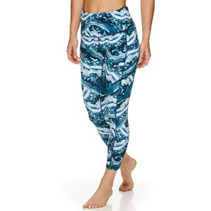 Women's Gaiam Om High Rise Pocket Yoga Capri Leggings