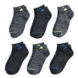 Boys 4-20 adidas Superlite 6-Pack Low-Cut Crew Socks