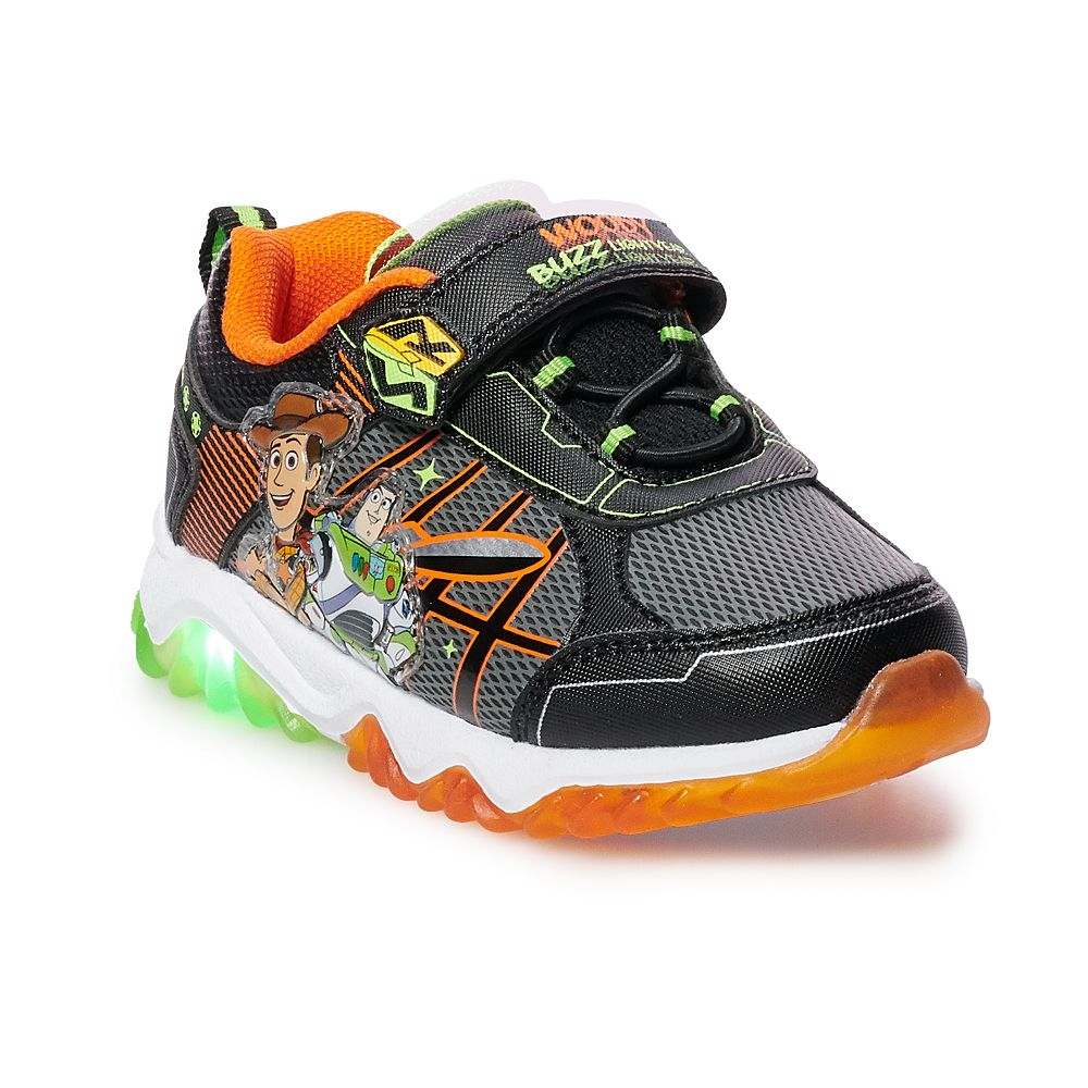 Disney / Pixar Toy Story 4 Woody & Buzz Lightyear Toddler Boys' Light Up Shoes