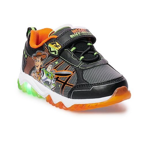 Disney / Pixar Toy Story 4 Woody & Buzz Lightyear Toddler Boys' Light Up Shoes