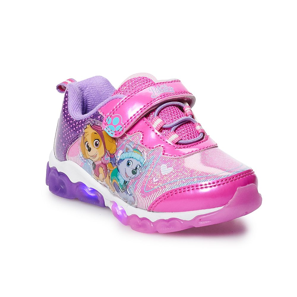 Paw Patrol Skye & Everest Toddler Girls' Light Up Sneakers