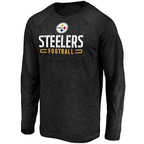 Men's Pittsburgh Steelers Striated Engage Long Sleeve Tee