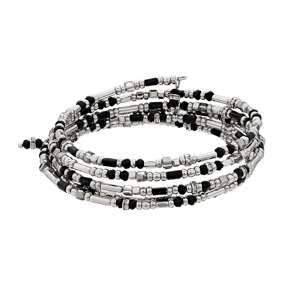 SONOMA Goods for Life® Multi-Beaded Coil Bracelet