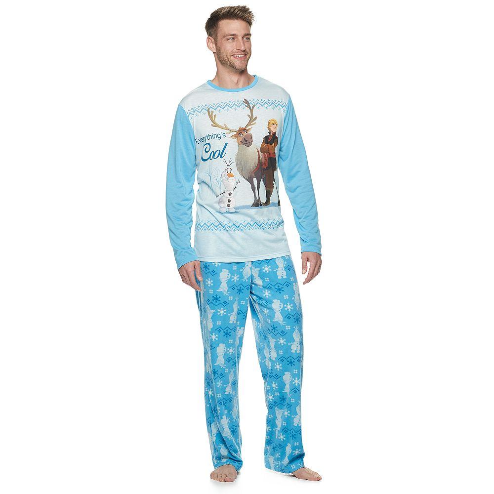 Disney's Frozen Men's Top & Bottoms Pajama Set by Jammies For Your Families