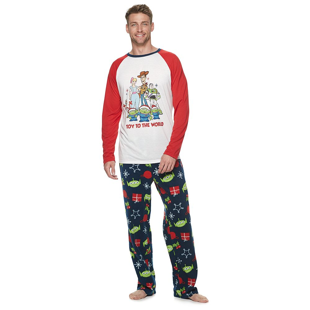 Disney / Pixar's Toy Story 4 Men's Top & Bottoms Pajama Set by Jammies For Your Families