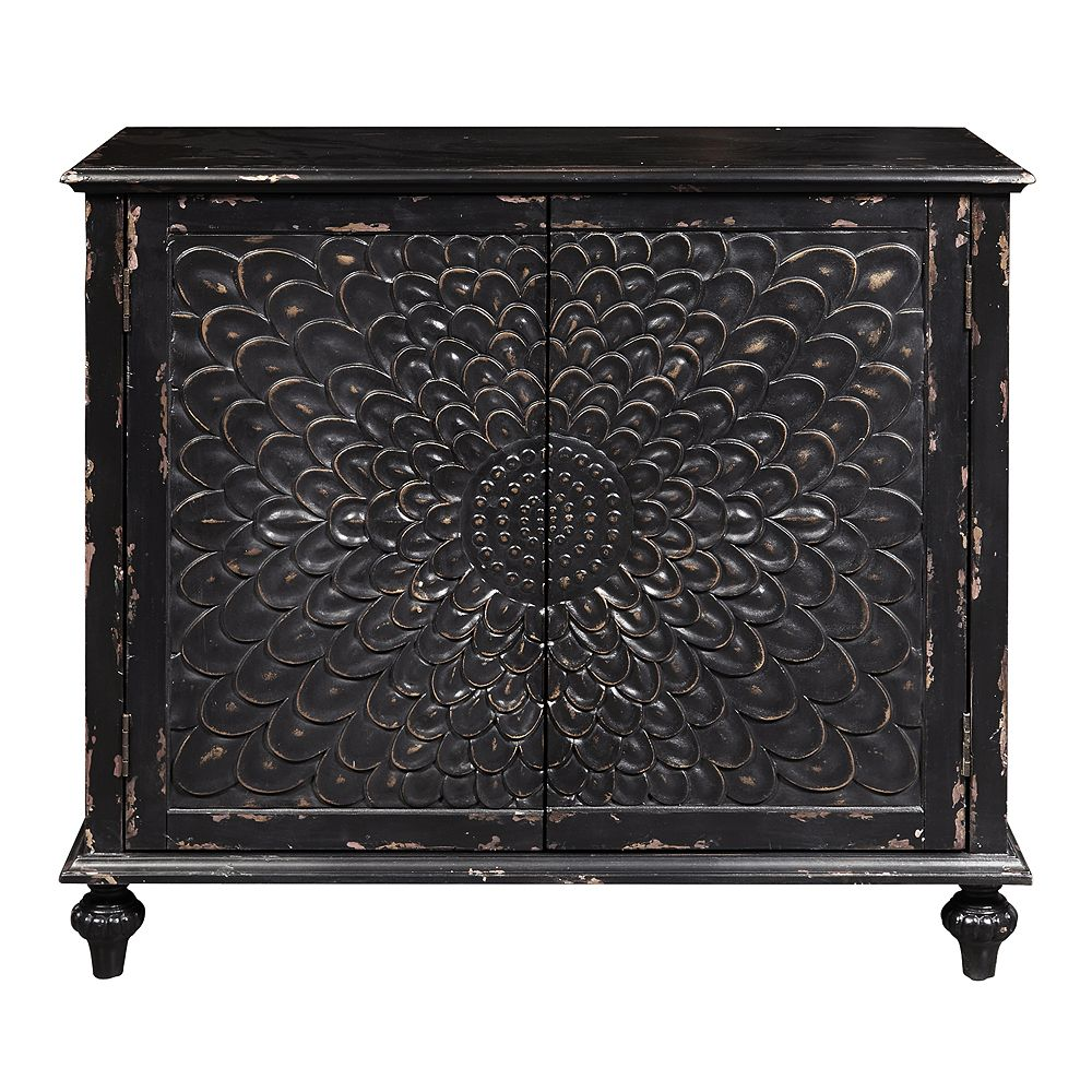 Homefare Dahlia Carved Two Door Chest