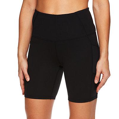 Women's Gaiam High Rise Pocket Yoga Shorts