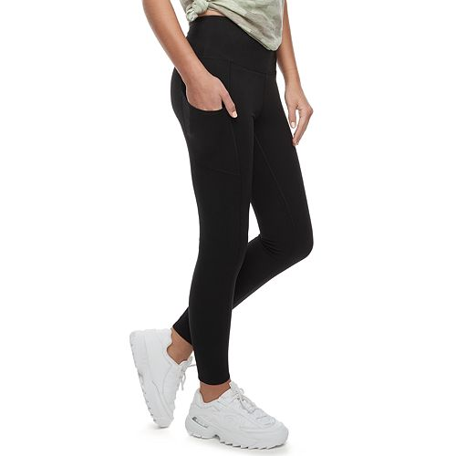 Juniors' SO® High Waisted Cell Phone Pocket Long Legging