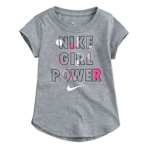 "Toddler Girl Nike ""Girl Power"" Dri-FIT Graphic Tee"