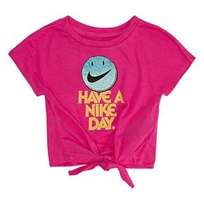 """Toddler Girl Nike """"Have A Nike Day"""" Graphic Tee"""