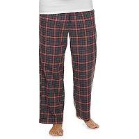 Croft & Barrow Mens Plaid Flannel Sleep Pants Deals
