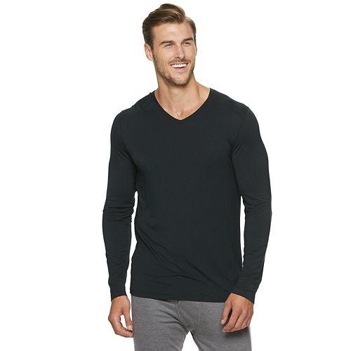 Big & Tall Climatesmart® by Cuddl Duds Lightweight ModalCore Performance Base Layer V-Neck Shirt