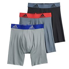 Boys 4-20 adidas Sport Performance climalite 3-Pack Boxer Briefs 1fc83c3fa9