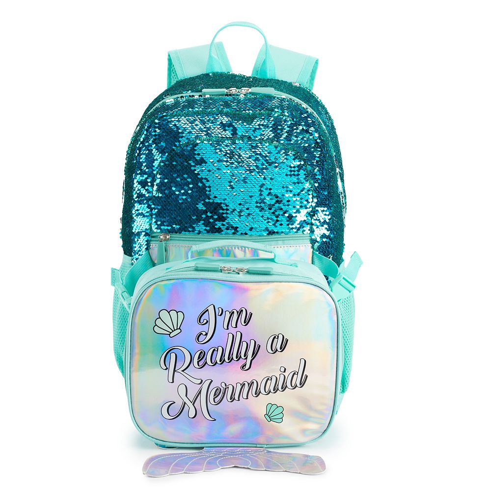 "Girls' ""I'm Really a Mermaid"" Backpack"