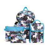 Girls 6-Piece Backpack Set