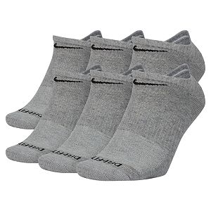 Men's Nike 6-Pair Everyday Plus Lightweight No-Show Socks