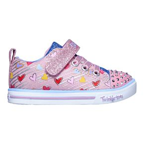 Skechers Twinkle Toes Sparkle Lite Toddler Girls' Light Up Shoes