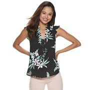 Juniors' Candie's® Flutter Sleeve Top