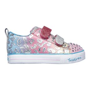 Skechers Twinkle Toes Shuffle Lite Toddler Girls' Light Up Shoes