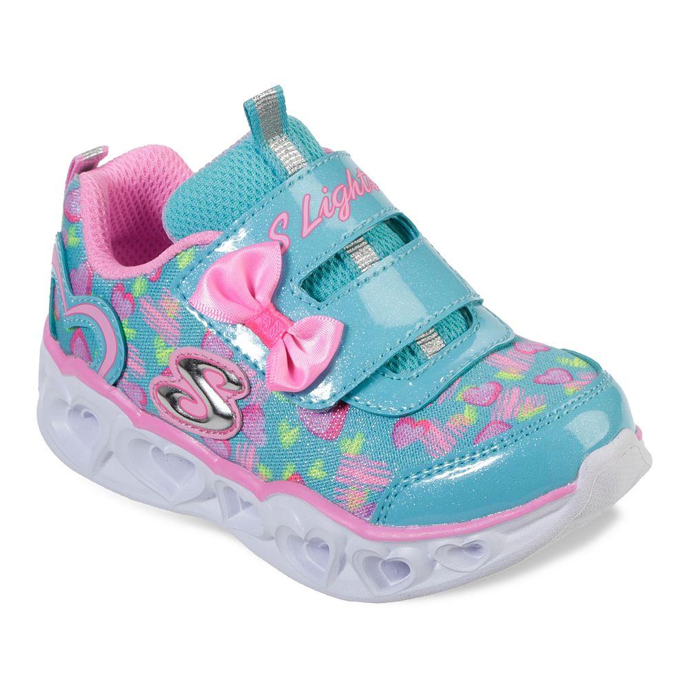 Skechers® S Lights Heart Lights Toddler Girls' Light Up Shoes