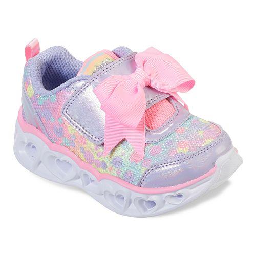 Skechers S Lights Heart Lights Toddler Girls' Light Up Shoes