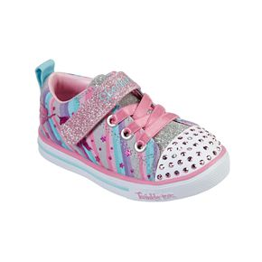 Skechers Twinkle Toes Sparkle Lite Magical Rainbows Toddler Girls' Light Up Shoes